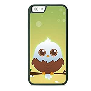 Case Fun Case Fun Brown American Eagle by DevilleART TPU Rubber Back Case Cover for Apple iPhone 6 4.7 inch