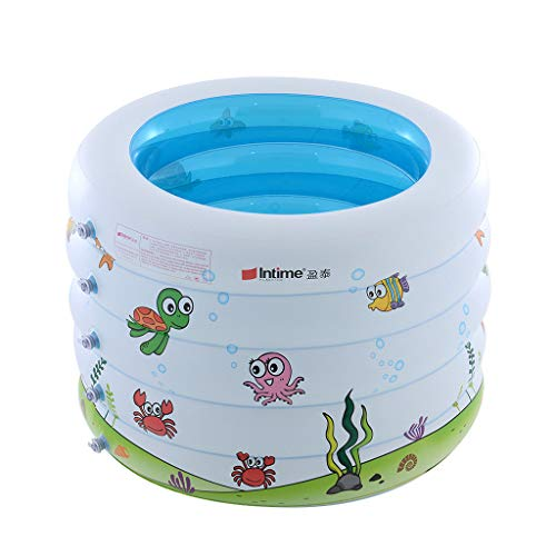 - Moonite Cartoon Baby Swimming Pool Portable Inflatable Bathtub Infant Play Game Pool Ball Pool