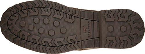 Skechers USA Solent-Manger Mens Oxford Dark Brown wT6WSBs9m
