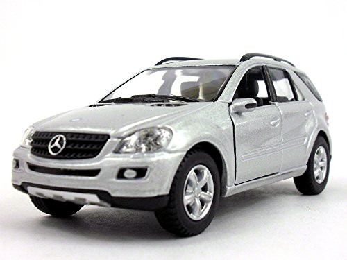 Mercedes-Benz ML-350 1/36 Scale Diecast Metal Model - SILVER