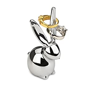 umbra zoola bunny ring holder chrome amazoncouk