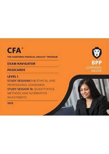 CFA Navigator – Passcards Level 1