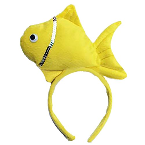 Fish Headband Costume (TopTie Cute Headbands Plush Headwear Party Accessories Halloween Costume-Fish)