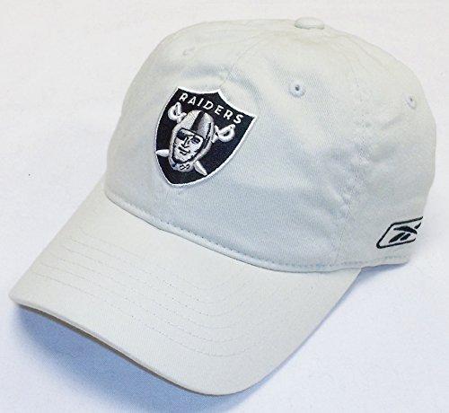 - Oakland Raiders Basic Logo Flex Slouch Reebok Hat - Osfa - E854Z