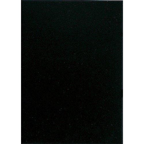 キッズ カラー工作用紙 20枚入 黒