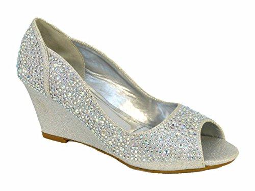 A4 Silver femme SKO'S pour Chaussons pqI4a4A