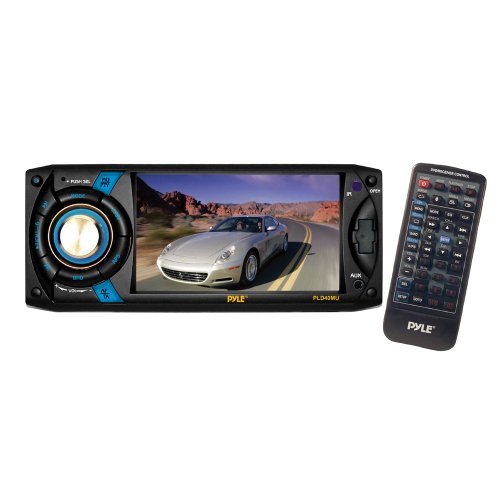 Pyle PLD40MU 4.3-Inch Touch Screen TFT/LCD Monitor with Digital Video Player/CD/MP3/USB/SD/AM/FM/RDS Player