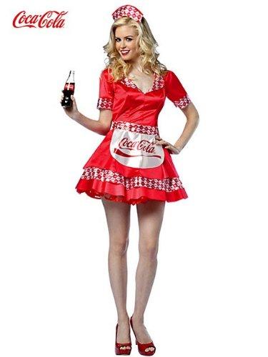 Coca-Cola - Coke Tank Dress Adult Costume -
