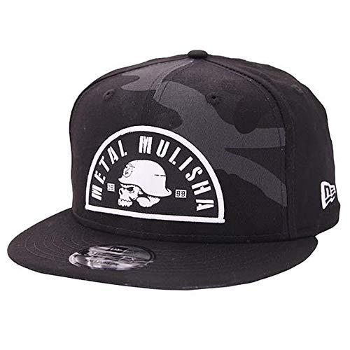 Metal Mulisha Logo Mens Hat - Metal Mulisha Men's Dusk New Era Snapback Adjustable Hats,One Size,Black