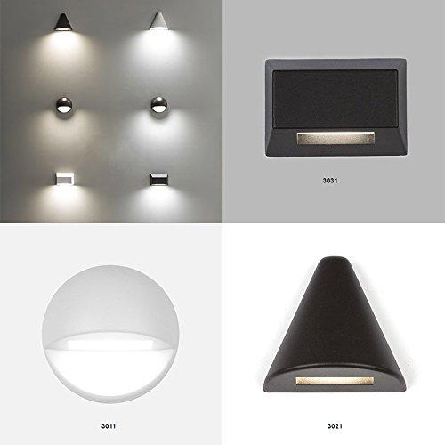 WAC Lighting 3031-30BZ WAC Deck & Patio Led 12V Rectangle Deck & Patio Light 3000K Soft White In Bronzebronze by WAC Lighting (Image #2)