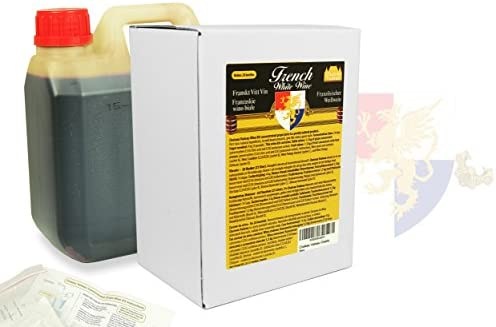 Chateau Vadeau - French White Wine| Wine making kit | Makes 21 liters -  Purley natural product - Instructions Included