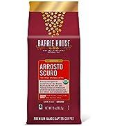 Barrie House Arrosto Scuro Ground Coffee, 10oz Bag | Fair Trade Organic Certified | Dark Roast | ...