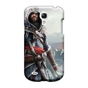 Samsung Galaxy S4 Mini Dia2069zgFV Special Colorful Design Assassins Creed Image Protective Cell-phone Hard Cover -PhilHolmes