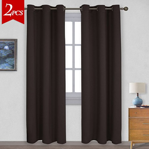 bedroom curtains 84 inches long brown buyer's guide for 2019