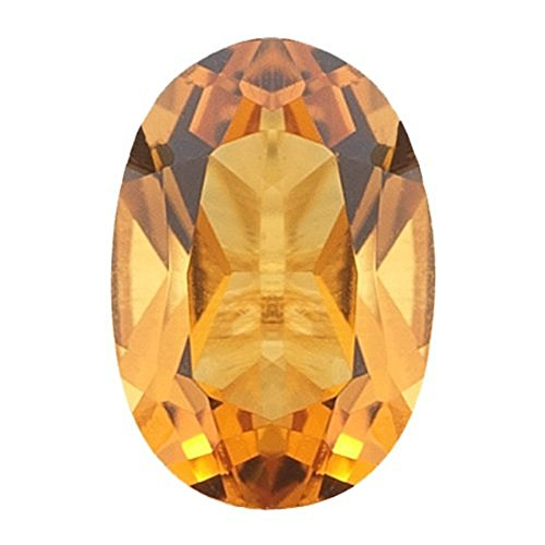 Natural 2.13 Carats 10X8 MM AAA Citrine Oval-Cut (1 PC) Loose - Ct 2.13 Natural
