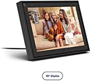 "Facebook Portal - Smart Video Calling 10"" Touch Screen Display with Alexa - Black"