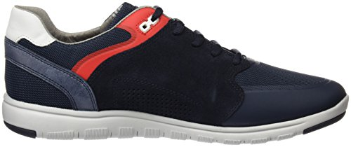 Geox U Xunday 2fit C, Zapatillas para Hombre Azul (NAVYC4002)