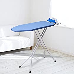 "KINGSO 30"" L x 13''W x 33''H Opensize 4-Leg Tabletop Ironing Board with Iron Rest Simple Design"