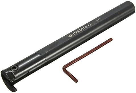 Queenwind MGIVR2016 3 つの16x160mm の旋盤溝入れは MGMN300 の挿入物3mm の切口のための用具のホールダーを切りました