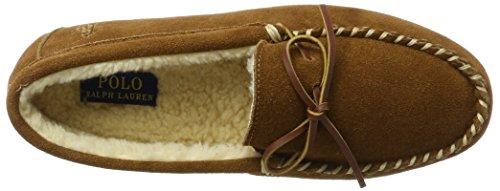 Ralph Lauren Mens Markel II, Pantofole Uomo Beige (Snuff Suede)