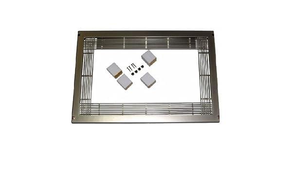 Embellecedor horno microondas standard color inoxidable 600x400mm: Amazon.es: Bricolaje y herramientas