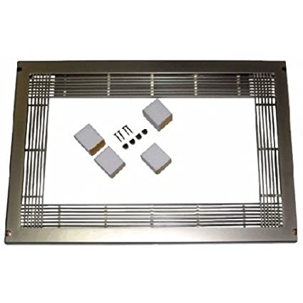 Embellecedor horno microondas standard color inoxidable 600x400mm