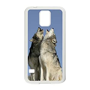 Wolf Unique Design Cover Case for SamSung Galaxy S5 I9600,custom case cover ygtg599662