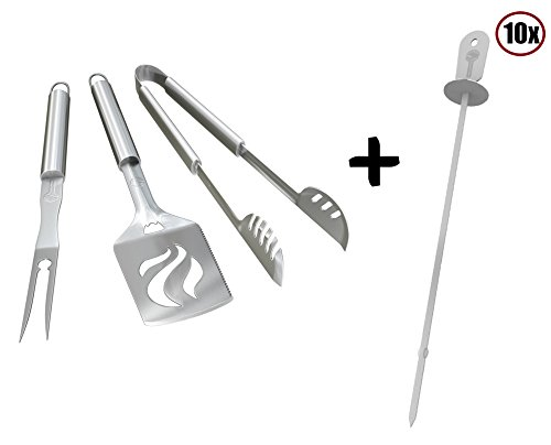 Kabob Skewers Grill Tools Set