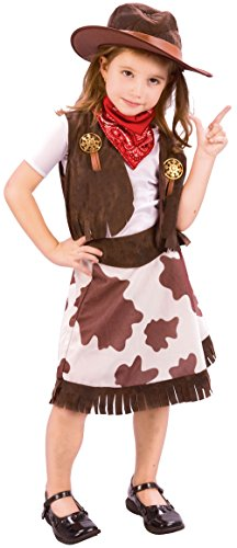 Toddler's Cowgirl Costume (Cowgirl Costume For Toddler)