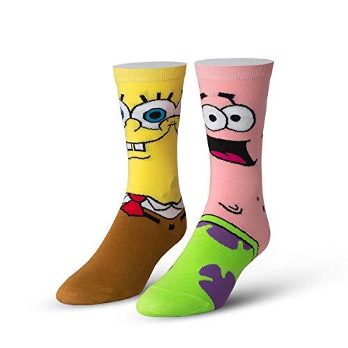 Cool Socks Men's Spongebob & Patrick Girls, multi Shoe size 8-12