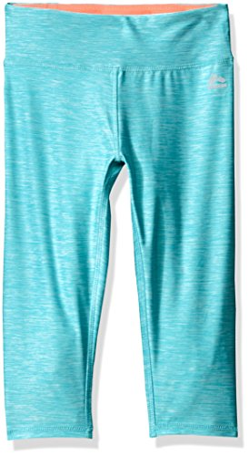 RBX Girls' Performance Space Dye Capri