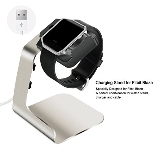 Buy now For Smartwatch Fitbit Blaze. Tranesca Aluminum charger/charging stand/charging station for Fitbit Blaze -Does not