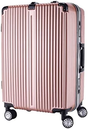 Color : Rose Gold, Size : L Liufeilong Trolley Universal Wheel Aluminum Frame 360 Degree Mute Caster Luggage Student