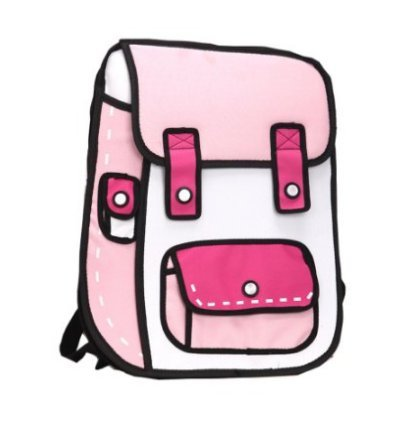 Genius Baby Drawing Cartoon Shoulders Backpack