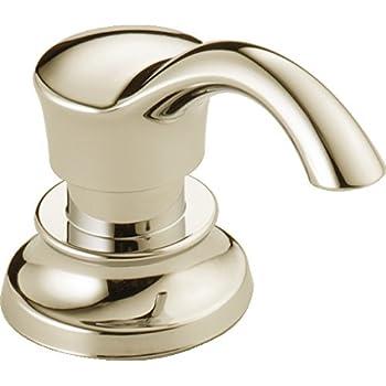 Delta Faucet Rp50781pn Soap Lotion Dispenser Polished Nickel Amazon Com