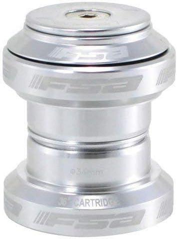 Color Plateado # XTE1508 /F.S.A Auriculares sin Rosca MTB Road con Tapa Superior FSA Orbit MX 1-1//8