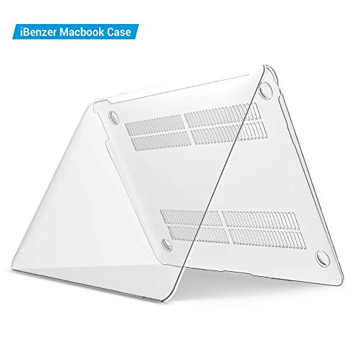 iBenzer MacBook Air 13 Inch Case 2018 Release New Version A1932, Soft Touch Hard Case Shell Cover for Apple MacBook Air 13 Retina with Touch ID, Crystal Clear, MMA-T13CYCL by IBENZER (Image #7)