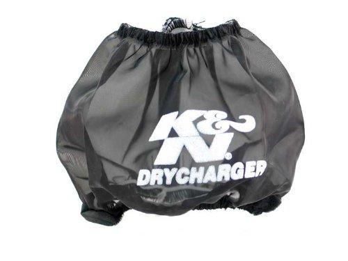 K&N YA-6601DK Black Drycharger Filter Wrap - For Your K&N YA-6601 Filter