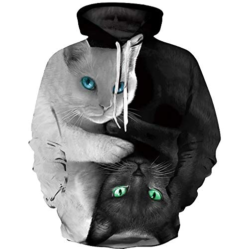 Sweats Longues Scepter Unisexe Takushihf Hoodie Digital Galaxy À Manches Imprimé shirts Sweat Capuche Pull Cat 3d Printed Casual Sword Y7xxfwT