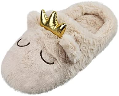 Hot LADIES FUR FLEECE SLIPPER BOOTS WARM COSY LINED HOUSE SHOES