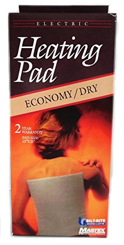 Mastex 500 Dry Heating Pad Overseas Use only 220/240 volt Wi
