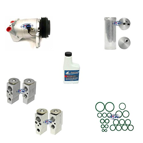 A/C AC Remanufactured Compressor Kit Fits Nissan Quest 2004-2009 V6 3.5L with Rear A/C 67465