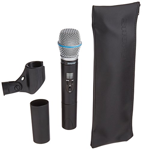 (Shure ULX2/BETA87A with Beta 87A Supercardioid Microphone, J1)