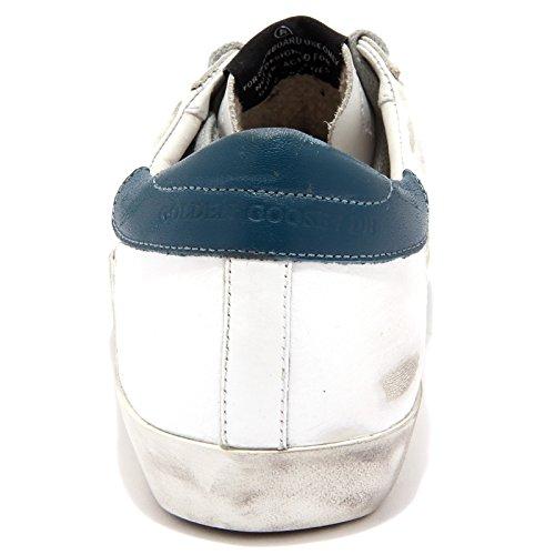 woman Golden shoe bianco octane 6893U verde sneaker green white smeraldo Goose donna q07q8Cp