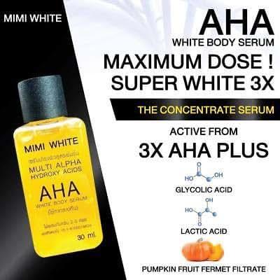 Whitening Body Serum Bleaching Brightening Skin,AHA,Vitamin C,B 30 ml for Body,Face,Neck,Bikini Senitive Areas amp All Skin Dark Spot