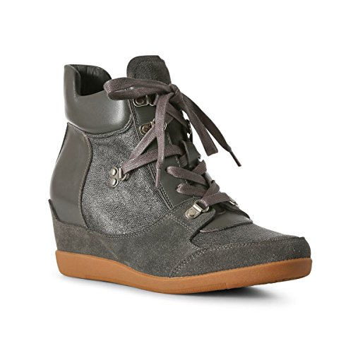 Top Shoe Hike Dark Bear 141 Hi Women's Emmy the Grey Trainers Grey RrROYq1
