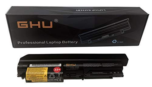 33+ 41U3198 43R2499 42T4531 Compatible with Lenovo Thinkpad T61 t61p R61 R61i R400 T400 14-inch 42T5263 42T5229 42T5227 42T4677 42T5265 42T4552 42T5228 42T4530 5100mah 57Wh ()