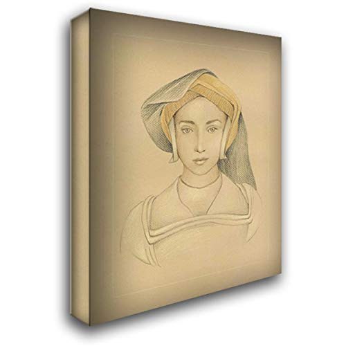 16th Century Portrait II 28x36 Gallery Wrapped Stretched Canvas Art by Harper, Ethan