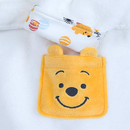 - Disney Winnie The Pooh Hooded Robe for Baby Multi