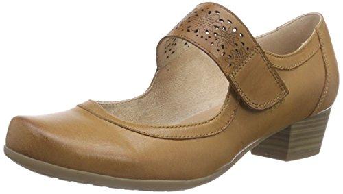 À Couvert Du Chaussures Braun Pieds Marron Femme 24300 cognac Talons Caprice 305 Avant 6aEqE0
